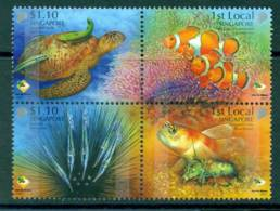 Singapore 2007 Shores & Reefs Block 4 MUH Lot23509 - Singapore (1959-...)