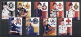 Singapore 2007 Uniforms Of Youth Organisations MUH - Singapore (1959-...)