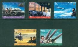 Singapore 2008 40 Years Of Singapore Airforce MUH Lot23492 - Singapore (1959-...)