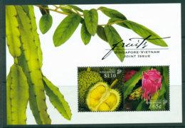 Singapore 2008 Fruits Joint Vietnam Issue MS MUH Lot24503 - Singapore (1959-...)