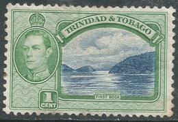 Trinidad & Tobago. 1938-44 KGVI. 1c MH. SG 246 - Trinidad & Tobago (...-1961)