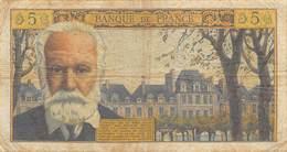 France 5 Francs NF Victor Hugo - Fayette N°56-12 - 1959-1966 ''Nouveaux Francs''