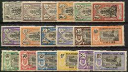 Inde (1914) N 25 à 42 * (charniere) - India (1892-1954)