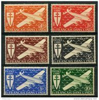 Inde (1942) PA N 1 à 6 * (charniere) - India (1892-1954)