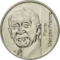 Monnaie, France, Mendès France, 5 Francs, 1992, Paris, TTB, Nickel, KM:1006, Le - France