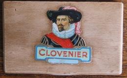 BOITE A CIGARES (En Bois) - CLOVENIR - HOLLANDESA. - Empty Tobacco Boxes