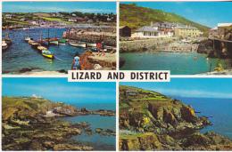 Postcard - Lizard And District - 4 Views - Card No. PLC819 - VG - Postcards