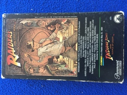 VHS::Raiders Of The Lost Ark, Harrison Ford, By Lucas And Spielberg 1984 - Action, Adventure