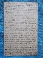 """Carte Postale écrite Le 5/10/38.... Bien Lire Le Texte ...il Parle Des """"boches""""  Je Cite..! - 1939-45"""