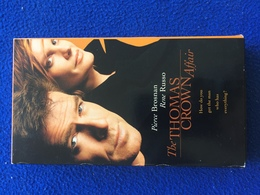 VHS:The Thomas Crown Affair, Pierce Brosnan & Rene Russo Running Time 1 Hr 53 Minutes, 1999 - Action, Adventure