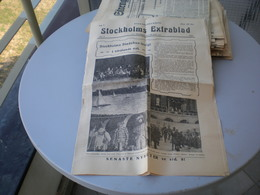 Stockholms Extrabland 1923 No 8 - Books, Magazines, Comics
