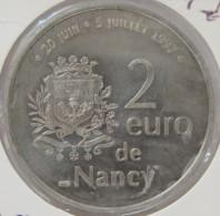 0198 - 2 EURO - NANCY - 1997 - Euros Of The Cities