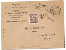 LETTRE FLIER DATEUR SEUL PARIS 62 RUE ST FERDINAND 4.II.1932 - Oblitérations Mécaniques (flammes)