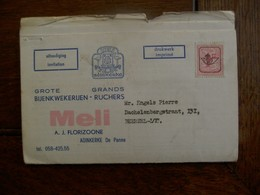 Lot5 Stuks         MELI  ADINKERKE   Met Uitnodiging 38 Salon Voeding   1967 - Publicité