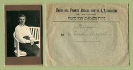 """CDV  : """" UNION DES FEMMES BELGES CONTRE L'ALCOOLISME """" - Anciennes (Av. 1900)"""