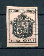 1854 SPAGNA SERVIZIO N.2 USATO - Servizi