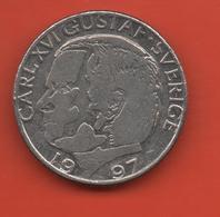 SUECIA - SWEDEN -  1 Krona 1997  KM852a - Sweden