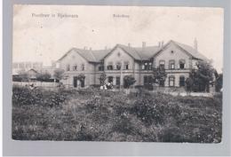 CROATIA Kolodvor Pozdrav Iz Bjelovara 1909 OLD POSTCARD 2 Scans - Kroatië
