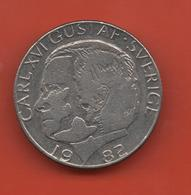 SUECIA - SWEDEN -  1 Krona 1982  KM852a - Suecia