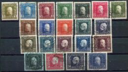 BOSNIA & HERZEGOVINA 1912 Definitive Set Used.  Michel 64-84 - Bosnia And Herzegovina