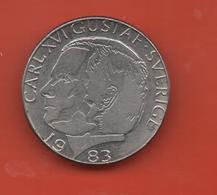 SUECIA - SWEDEN -  1 Krona 1983  KM852a - Suecia