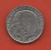 SUECIA - SWEDEN -  1 Krona 1989  KM852a - Suecia