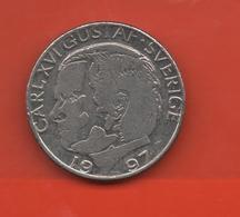 SUECIA - SWEDEN -  1 Krona 1997  KM852a - Suecia