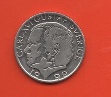 SUECIA - SWEDEN -  1 Krona 1999  KM852a - Suecia