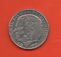 SUECIA - SWEDEN -  1 Krona 1977  KM852 - Suecia