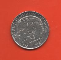 SUECIA - SWEDEN -  1 Krona 1978  KM852 - Suecia