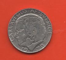 SUECIA - SWEDEN -  1 Krona 1979  KM852 - Suecia