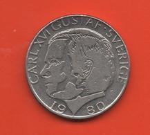 SUECIA - SWEDEN -  1 Krona 1980  KM852 - Suecia
