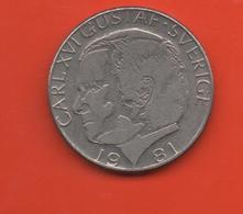 SUECIA - SWEDEN -  1 Krona 1981  KM852 - Suecia