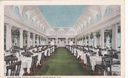 Florida Palm Beach Hotel Poinciana Dining Room 1924 Curteich - Palm Beach