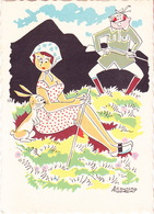 CPA - CHASSE - HUMOUR - Illustrateur Aldebert - 202 - Humor