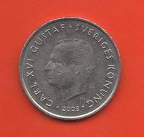 SUECIA - SWEDEN -  1 Krona 2003  KM894 - Suecia