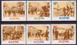 ISLE OF MAN 1987 SG 334-39 Compl.set Used Victorian Douglas - Isle Of Man