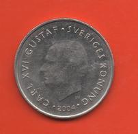 SUECIA - SWEDEN -  1 Krona 2004  KM894 - Suecia