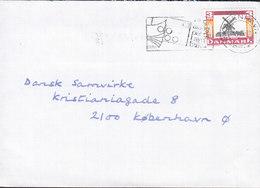 Denmark Savntesvej 26 A, GENTOFTE Slogan Flamme KØBENHAVN PTM. 1988 Cover Brief Mill Mühle Moulin (Cz. Slania) - Briefe U. Dokumente