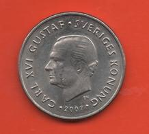 SUECIA - SWEDEN -  1 Krona 2007  KM894 - Suecia