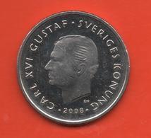 SUECIA - SWEDEN -  1 Krona 2008  KM894 - Suecia