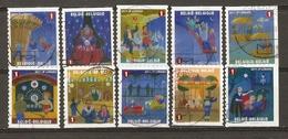 Belgique 2011 - La Foire - Attractions Foraines - Série Complète De Carnet  - Petit Lot De 10 Timbres Différents ° - Belgique