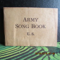 WW1 US Army Song Book - 1914-18
