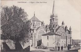 TINTENIAC - L'Eglise - Côté Sud-Ouest - France