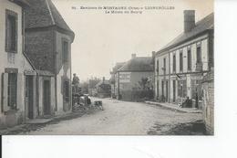 LIGNEROLLES   Le Milieu Du Bourg Bureau De Poste - Otros Municipios
