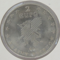 0213 - 2 EURO - SAINT BRIEUC - 1997 - Euros Of The Cities