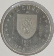 0215 - 2 EURO - BEAUNE - 1997 - Euros Of The Cities
