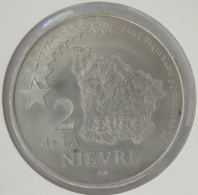 0216 - 2 EURO - NIEVRE - 1997 - Euros Of The Cities