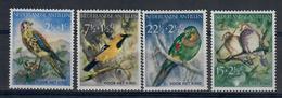 ANTILLE OLANDESI 1958 - FAUNA/ANIMALI - UCCELLI - SERIE COMPLETA - MH* - Antille