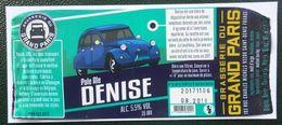 Etiquette  Biere Brasserie Du Grand Paris Denise 2 Cv - Beer